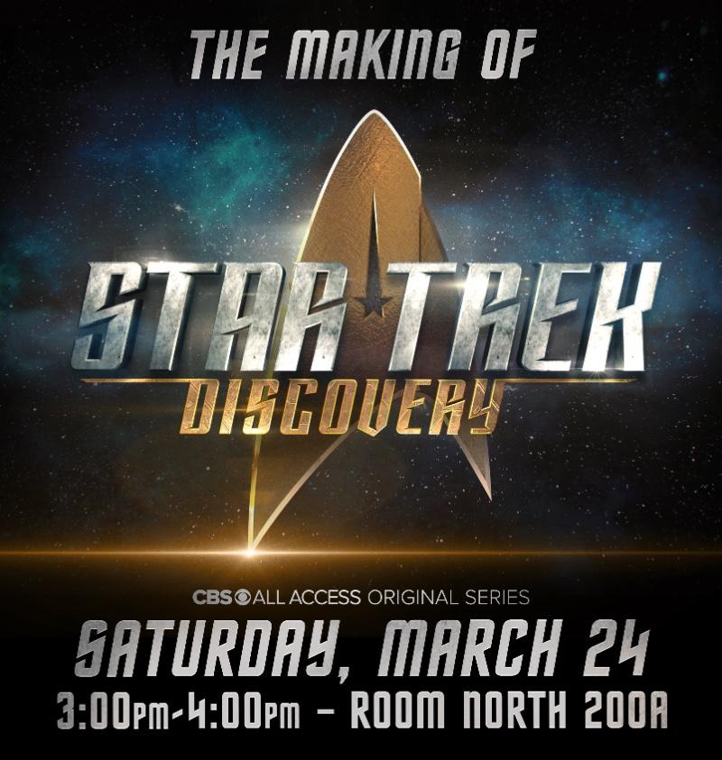 Star Trek: Discovery Boldy Goes to WonderCon