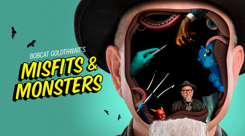 truTV with Bobcat Goldthwait's Misfits & Moinsters are headed to SDCC 2018!