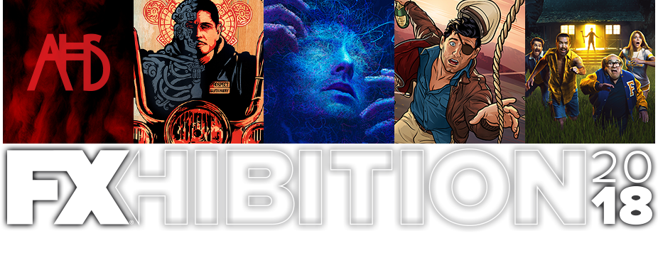 FXHIBITION'S RETURN TO SDCC WITH LEGION, AMERICAN HORROR STORY, MAYANS M.C.& ARCHER ACTIVATIONS