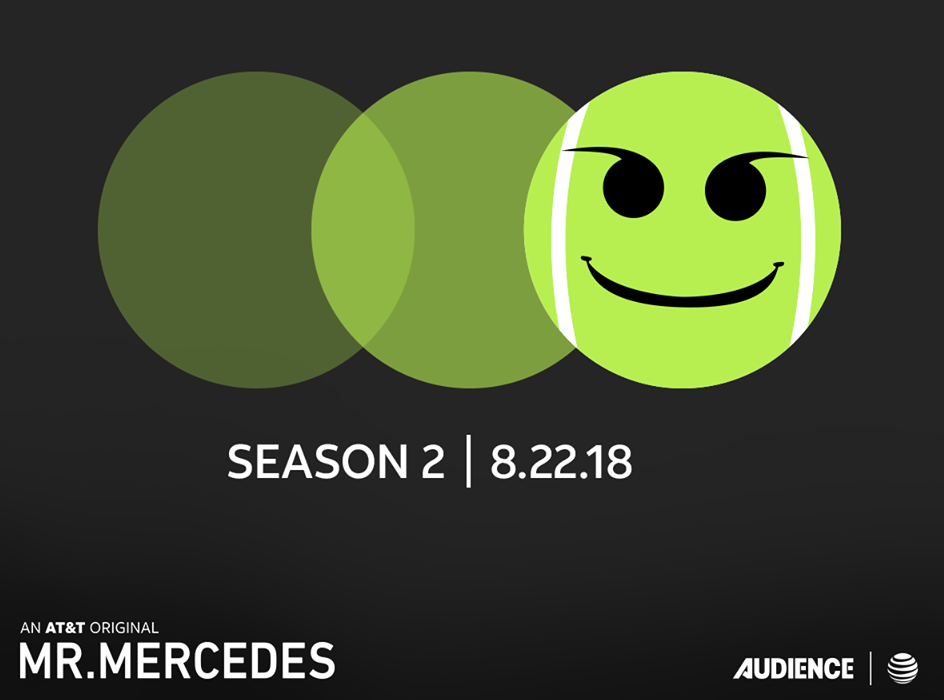"""AT&T AUDIENCE NETWORK'S HIT SERIES """"MR. MERCEDES"""" RETURNS TO SDCC!"""