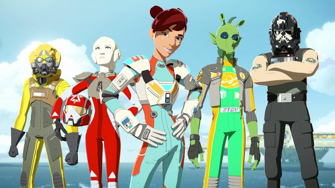 Meet the Aces from Star Wars Resistance!