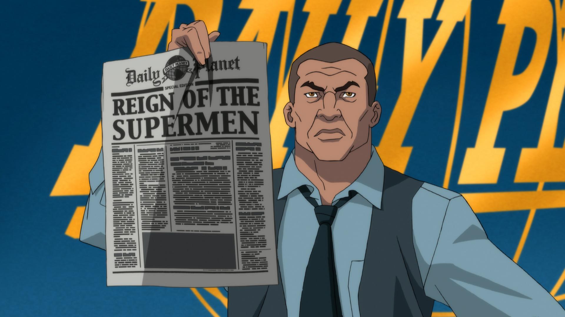 REIGN OF THE SUPERMEN a Cinematic Debut Fathom Event