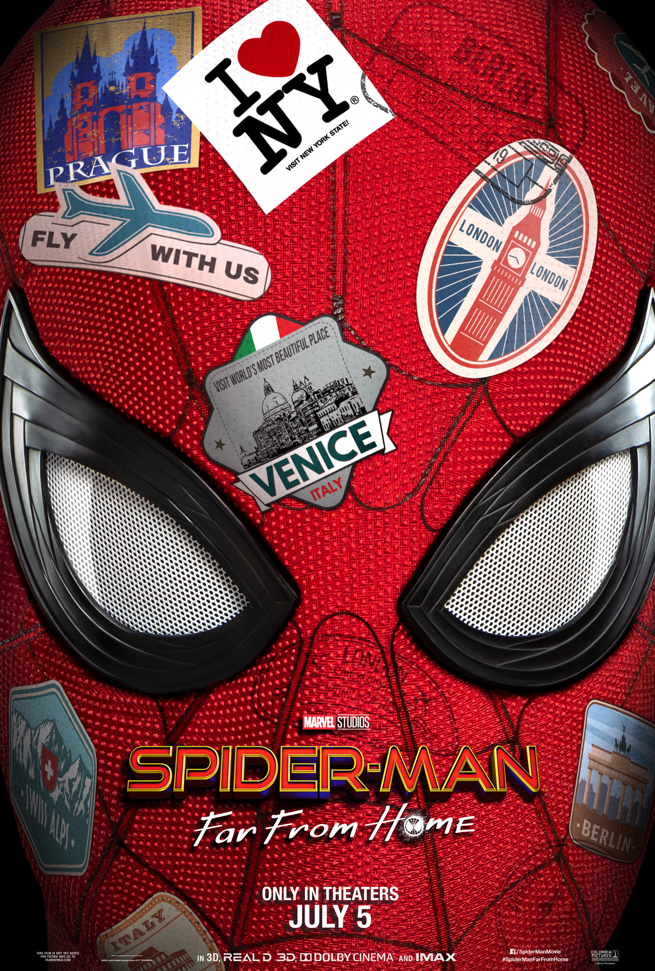 SPIDER-MAN™: FAR FROM HOME TRAILER and 1st LOOK at MYSTERO