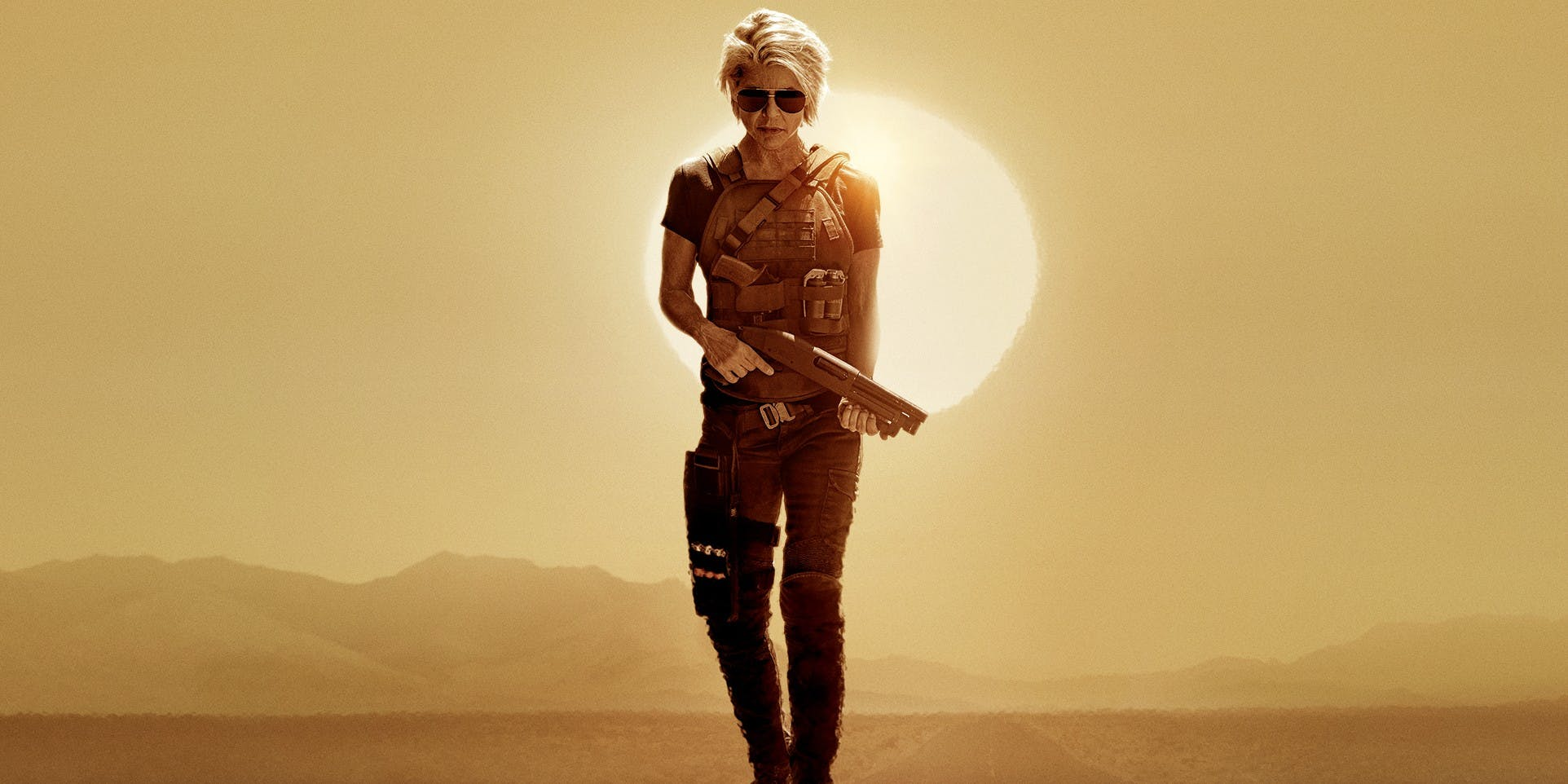 She's Back: The Return of Linda Hamilton a TERMINATOR DARK FATE Trailer & Sizzle!