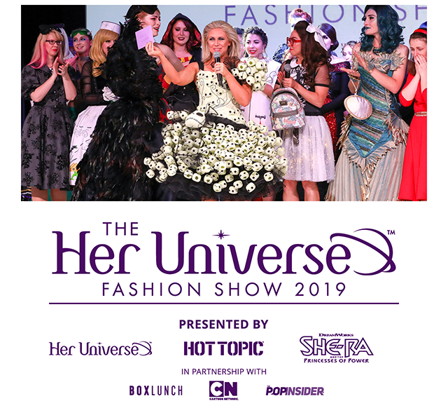 By The Power of Fashion She-Ra Takes Center Stage at Her Universe Fashion Show at SDCC19!