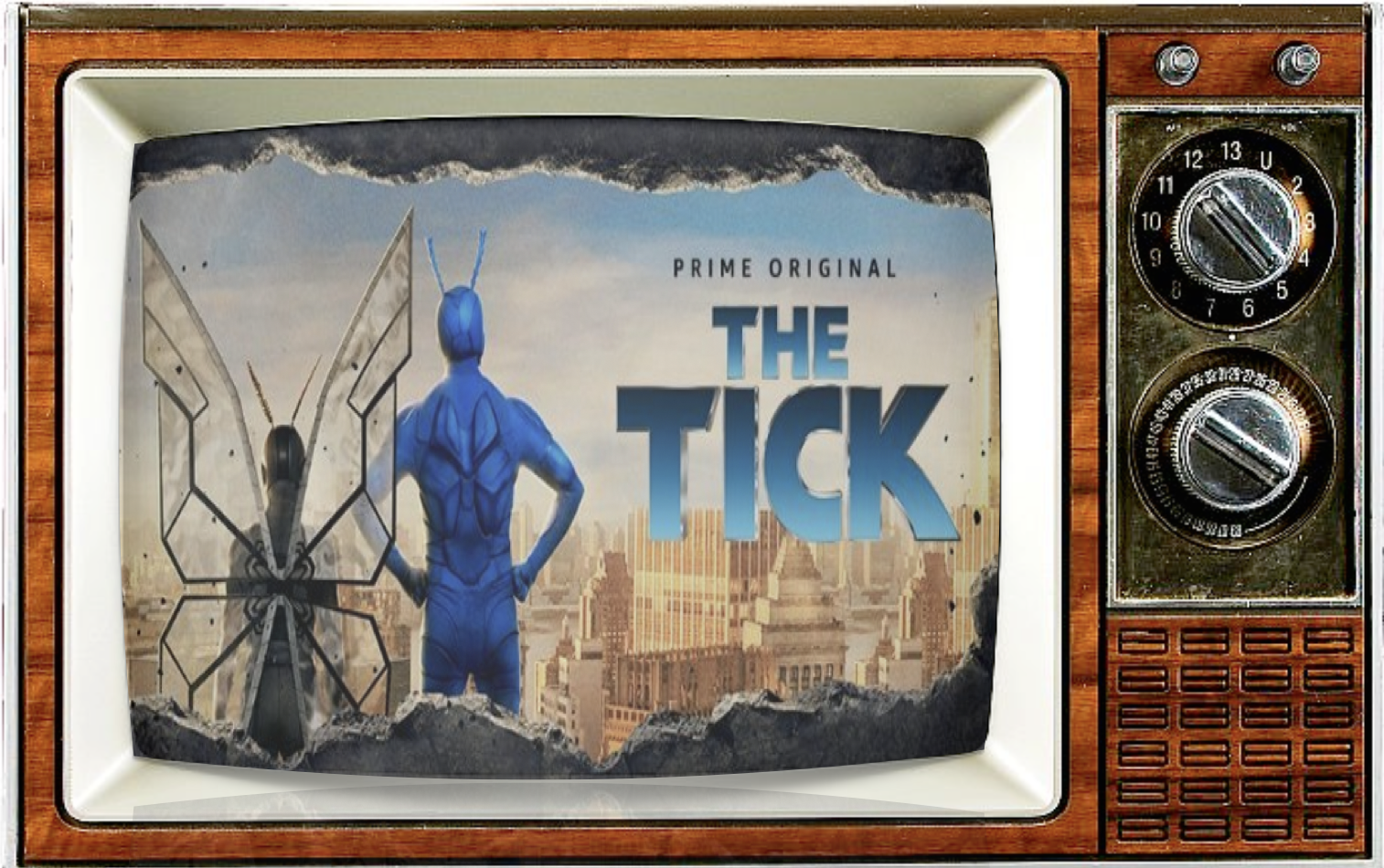 SMC Episode 80: THE TICK, A Hero Will Land Again! With Peter Serafinowicz and Griffin Newman