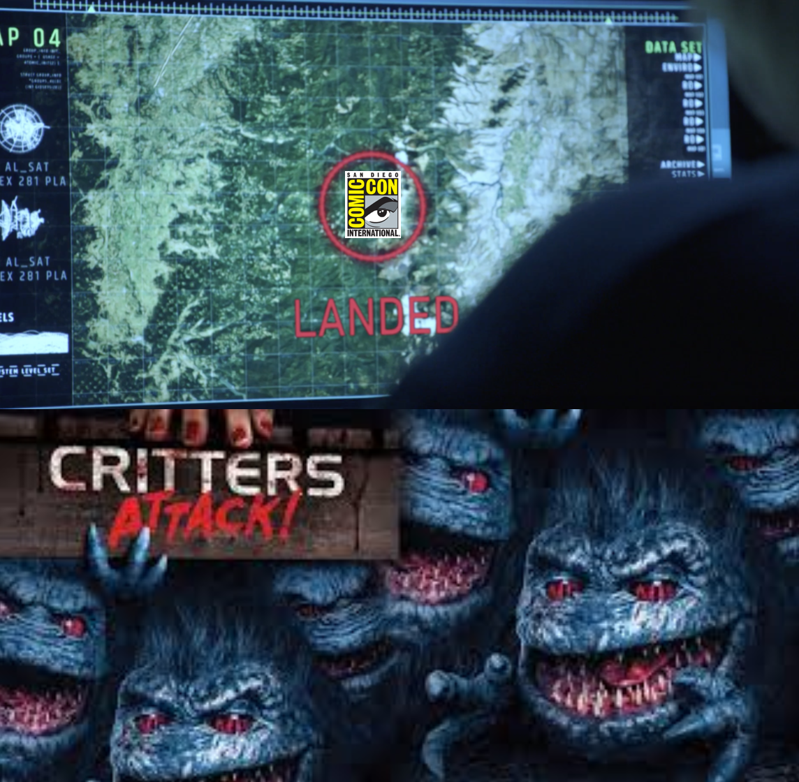 CRITTERS ATTACK: This Time SDCC is On the Menu!