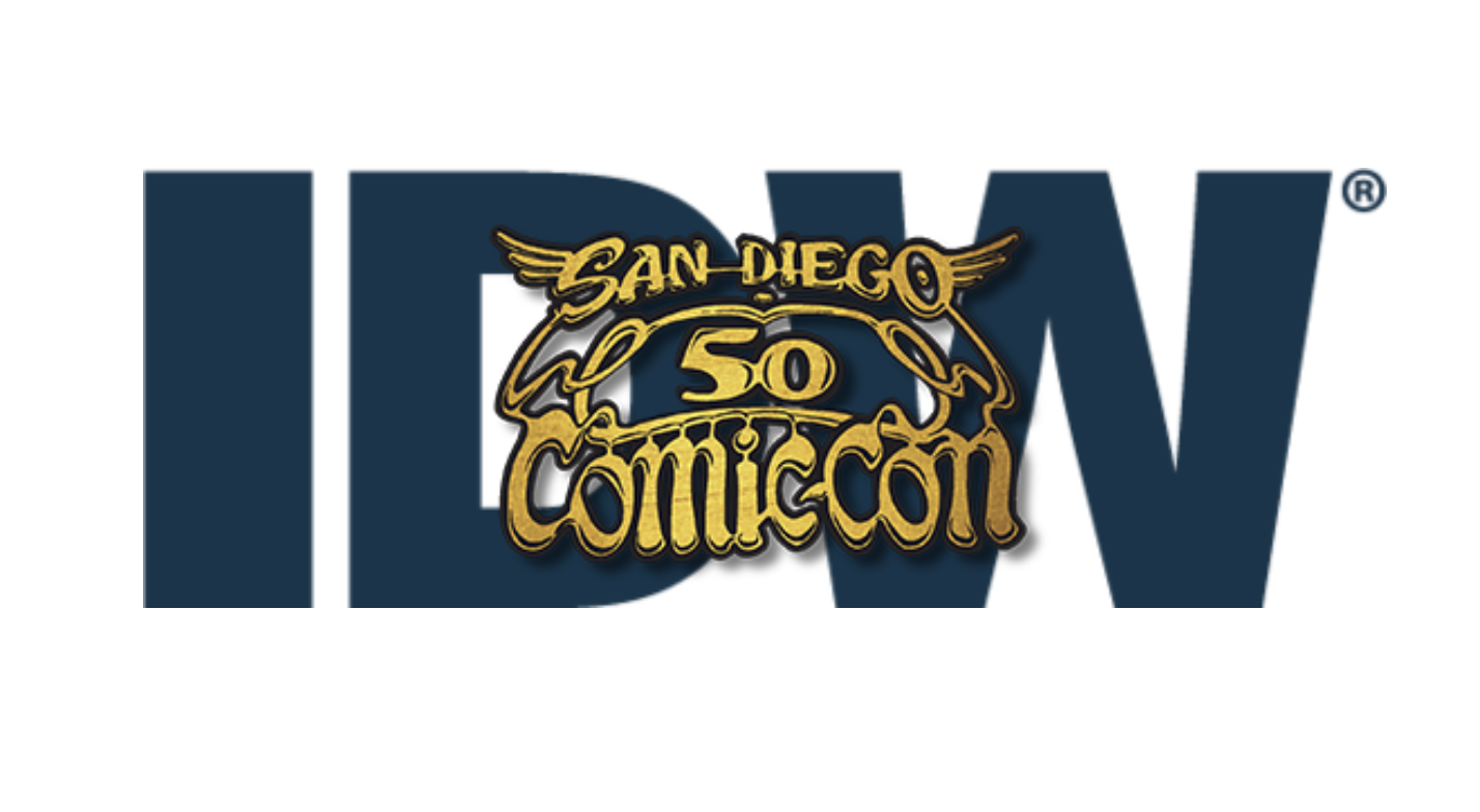 IDW Goes BIG for SDCC50: With Sons of Chaos Creator Chris Jaynes, Kevin Eastman, George Takei so much more!