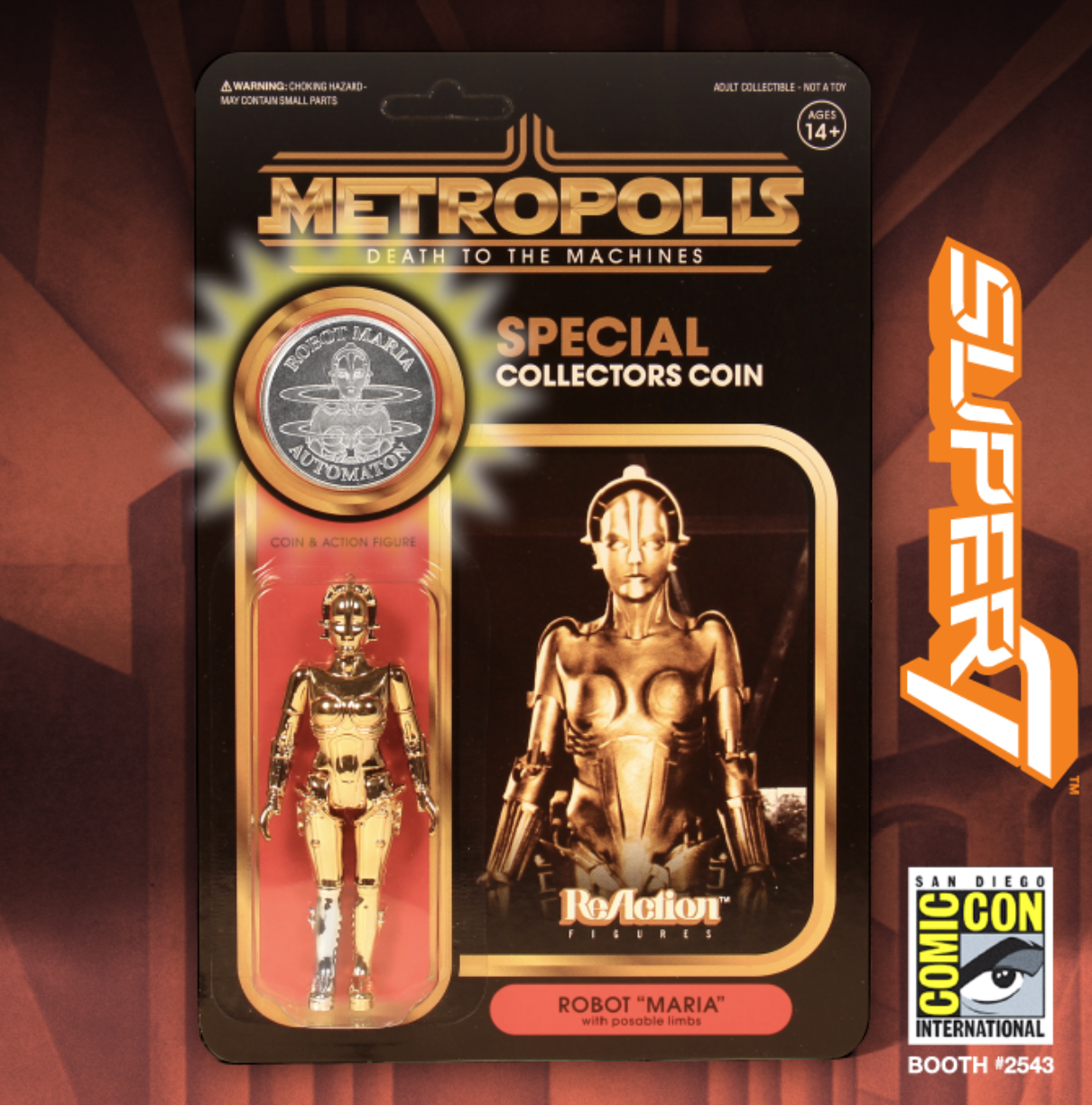Retro Master Toy Makers, Super7 Moves to the Main Aisle to Take Center Stage in the SDCC Exhibit Hall