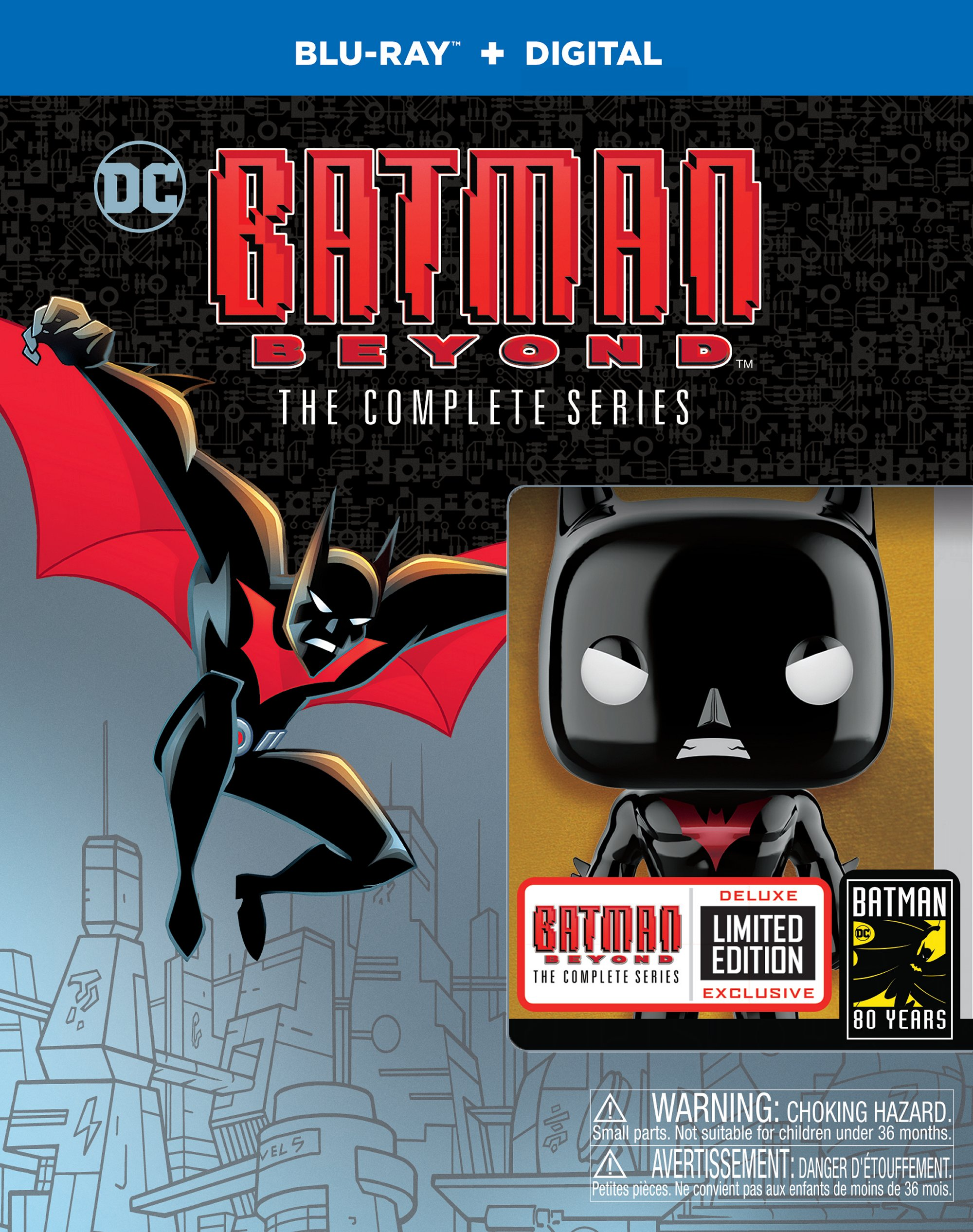From SDCC Hall H and Beyond! Batman Beyond: The Complete Series – LTD Remastered Blu-ray Box set Drops in October