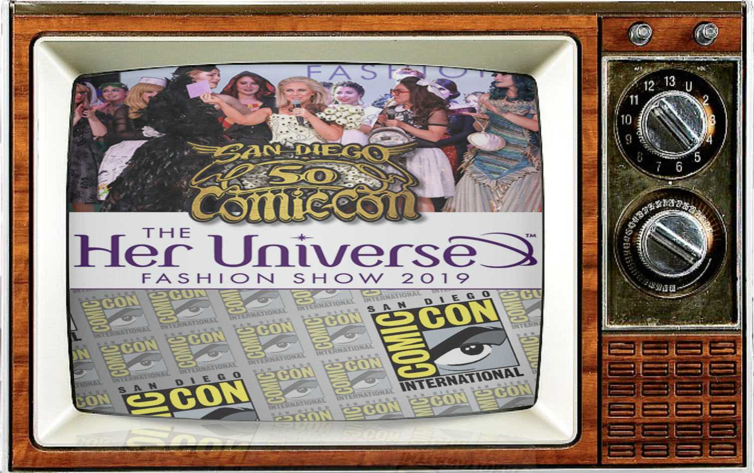 SMC Episode 82: Comic-Con at 50: In Fashion & Empowered An SDCC Preview Show, w/ Ashley Eckstein