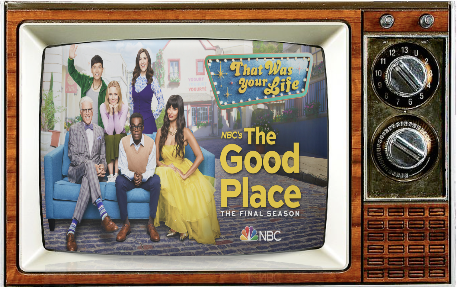 Episode 84: Kristen Bell, Ted Danson, Michael Schur and The Pandemonium of THE GOOD PLACE