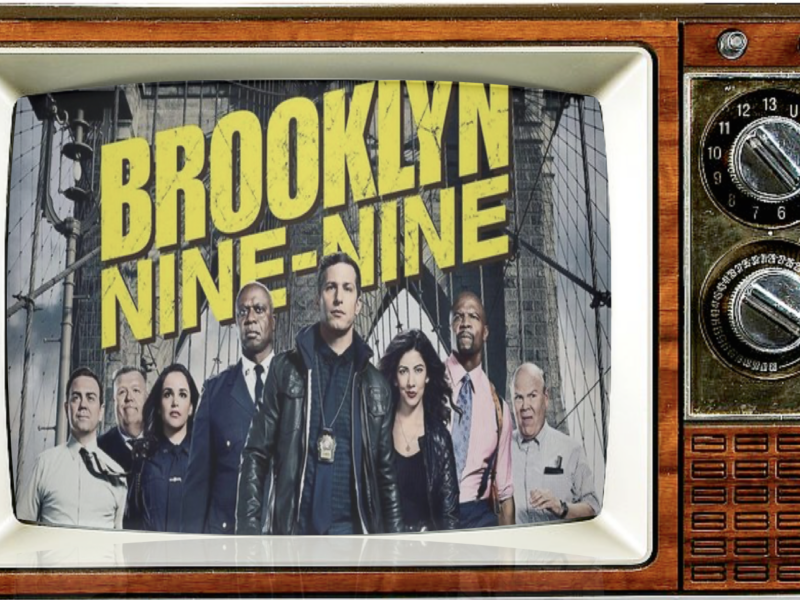 Episode 87: Brooklyn 99: A Cop Show with No Problems featuring Andy Samberg & Terry Crews