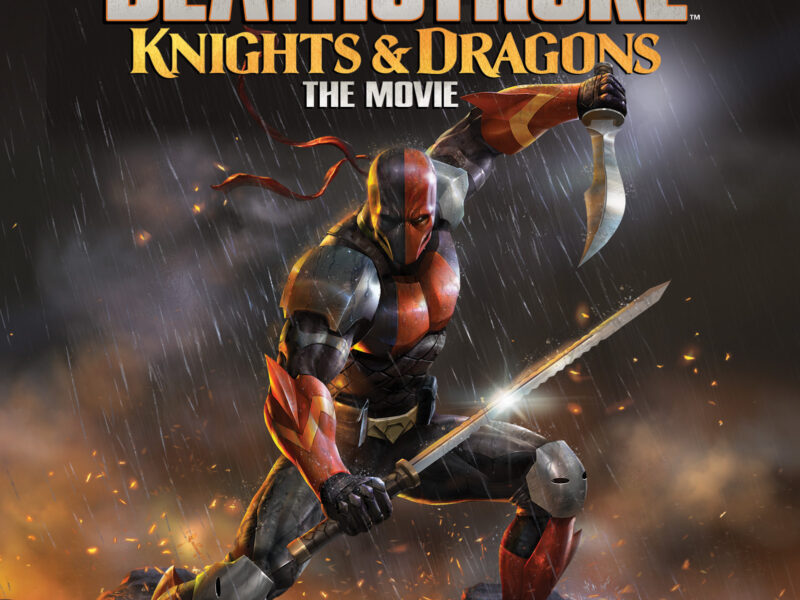 DEATHSTROKE: KNIGHTS & DRAGONS- A Michael Chiklis as Slade Kick to the Face!