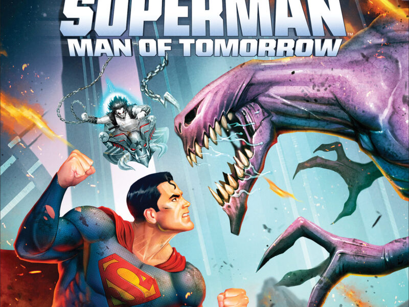 A New Era of DC Universe Movies Takes Flight! SUPERMAN: MAN OF TOMORROW