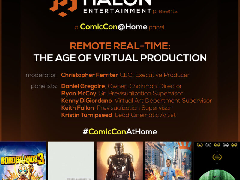 Halon Brings the Mandalorian VFX to Comic-Con at Home!