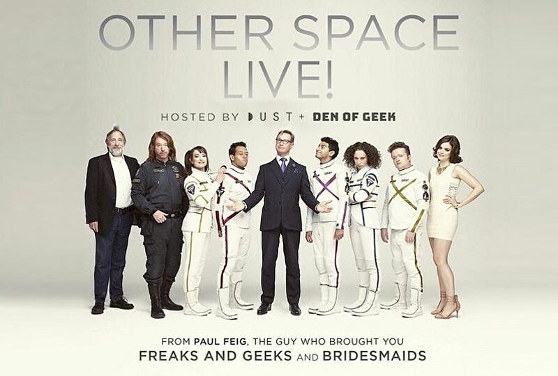 LIVE Screening Q&A w/ Paul Feig & Cast for Sci-Fi Comedy OTHER SPACE on DUST
