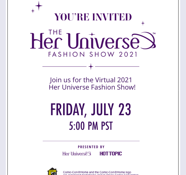 25 Designers, 25 Geek Couture deSigns, and a Fashion Show Like You've Never Experienced Before!