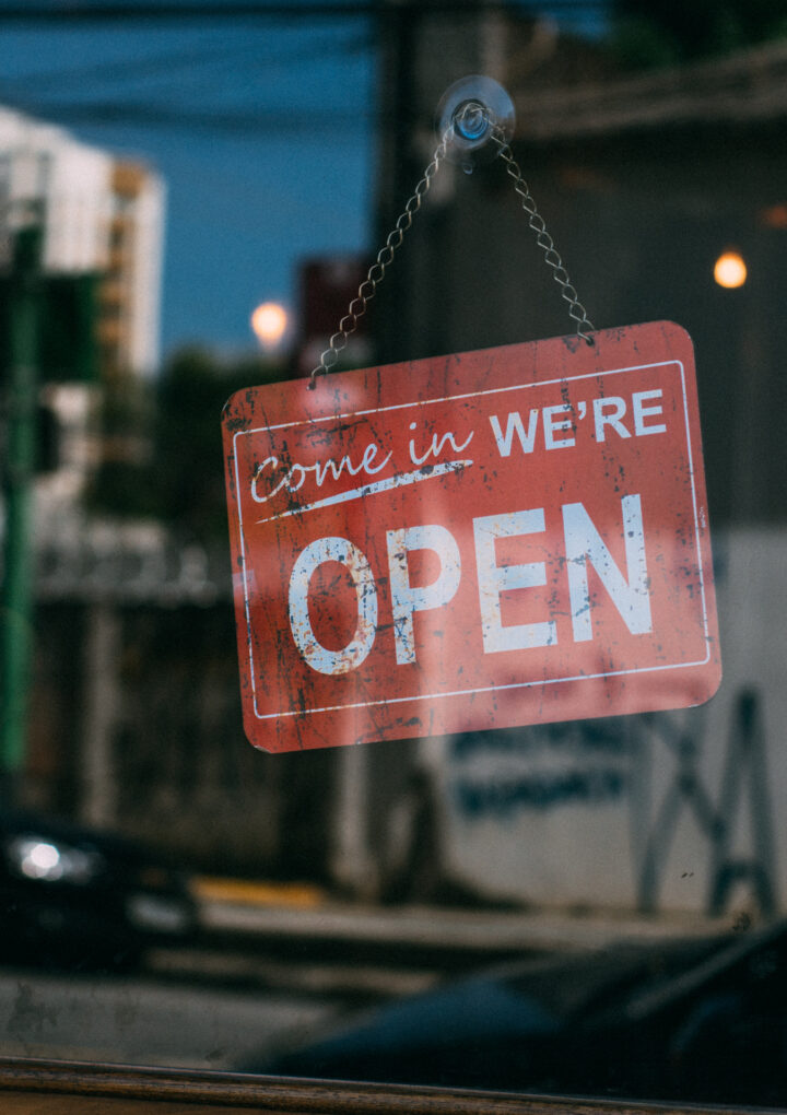 No Customers Inside When Businesses Reopen