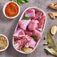 Fresh Mutton Curry Cut (Kochi patha)