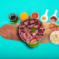 Fatless Mutton Curry Cut