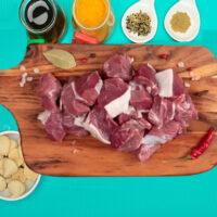 Fresh Mutton Rewaji Curry Cut