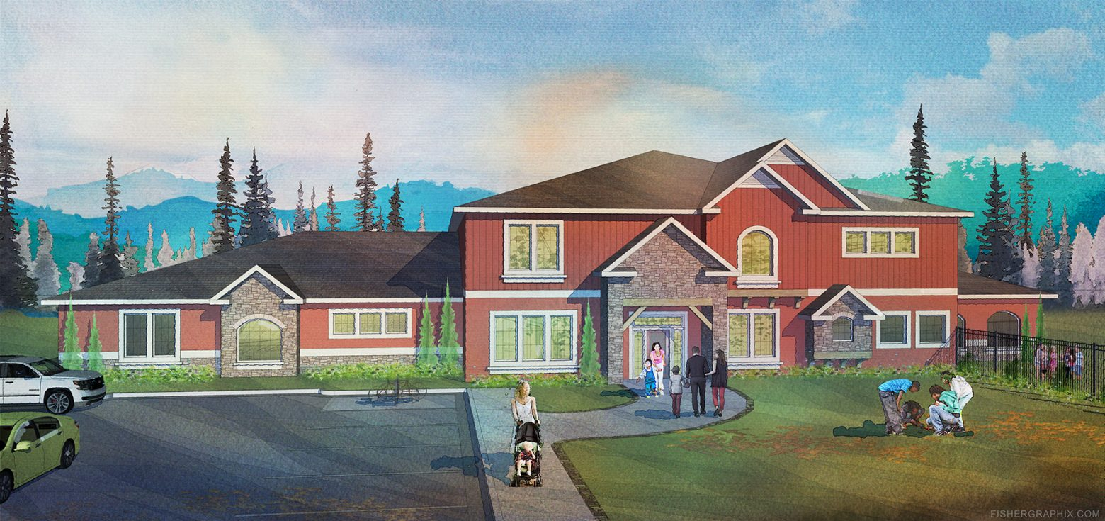 northwest traditional childcare rendering