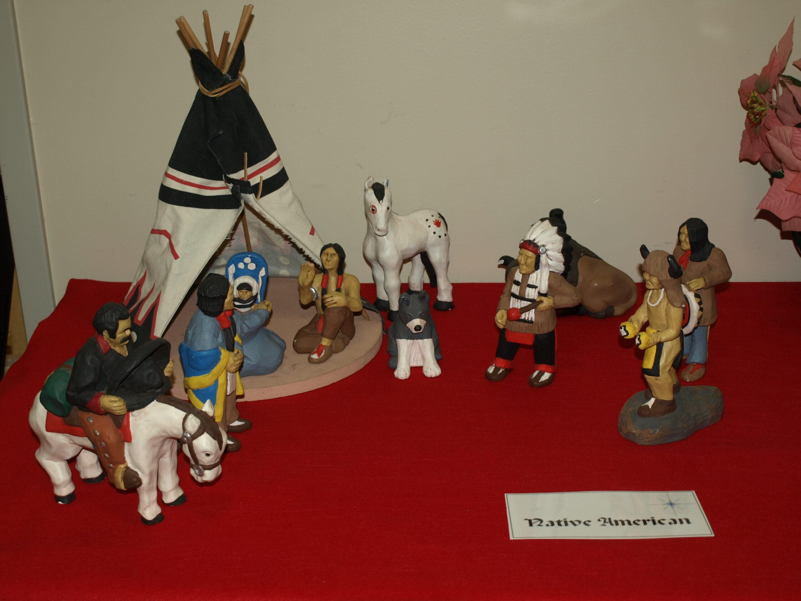 International Nativity Display