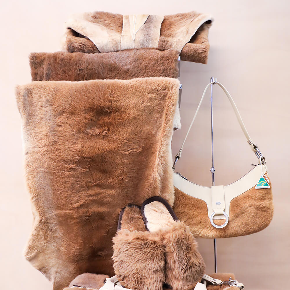 BUSH Kangaroo Fur Accessories
