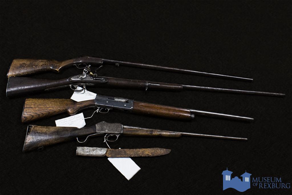 Old time guns