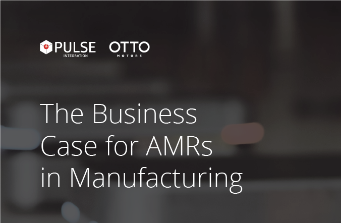 AMRs in Manufacturing