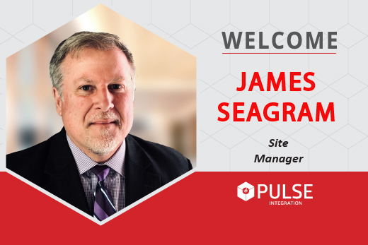Welcome James Seagram