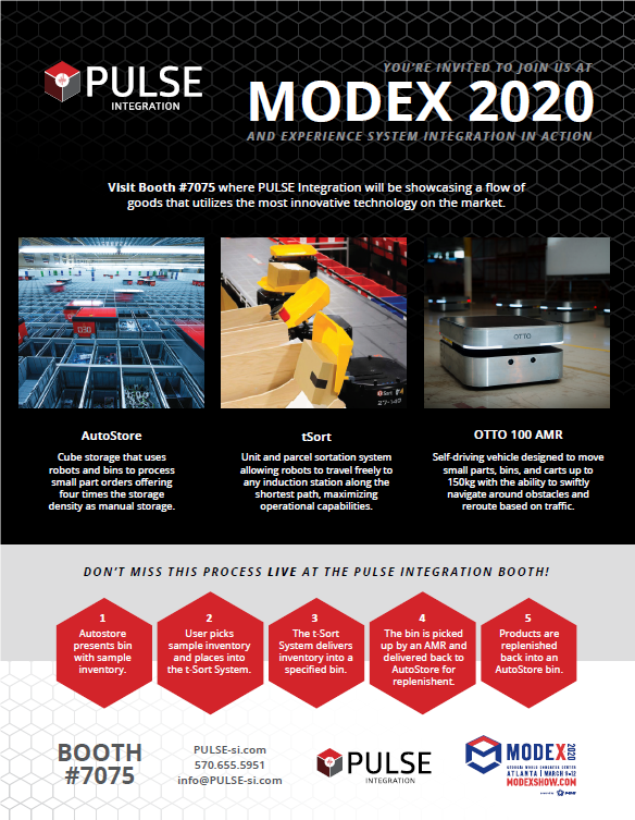 MODEX 2020 Invitation