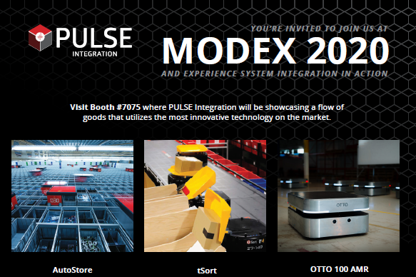 PULSE Integration to be Featured at MODEX 2020!