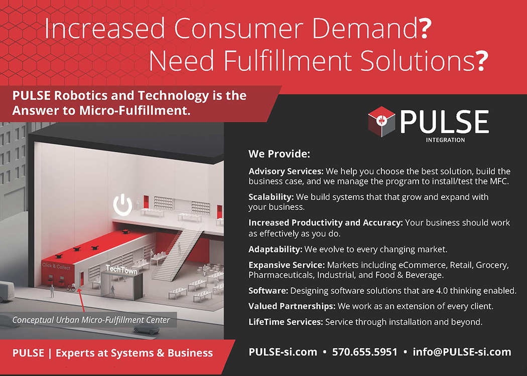 PULSE Robotics and Technology is the Answer to Micro-fulfillment