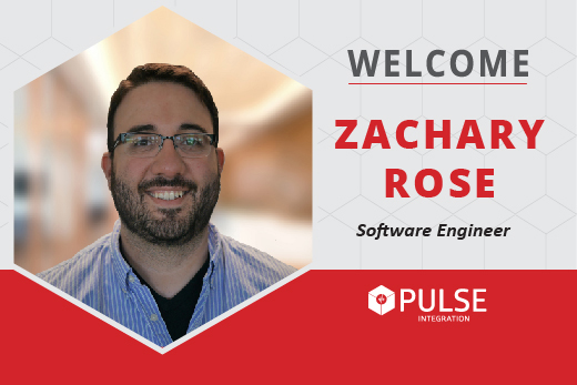 PULSE Integration Welcomes Zachary Rose, Software Engineer