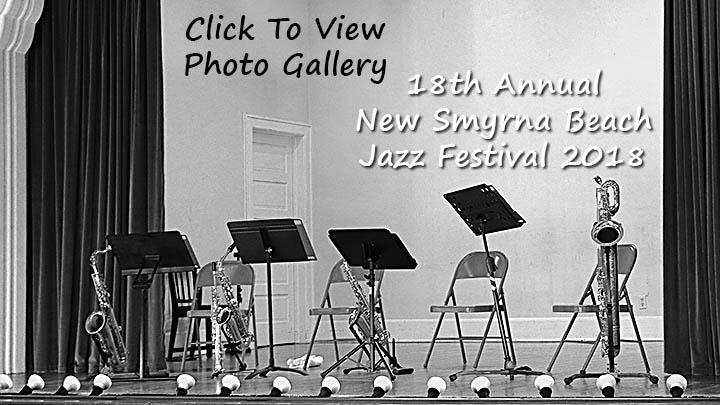 18th Annual New Smyrna Beach Jazz Festival.