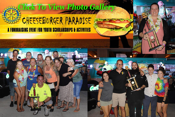 Cheeseburger in Paradise -NSB & Edgewater Rotary 2019