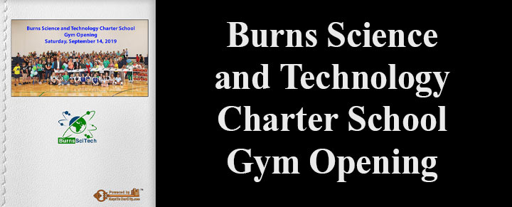 Burns Science and Technology Charter School Gym Opening