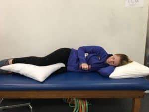 Starting Position for External Rotation