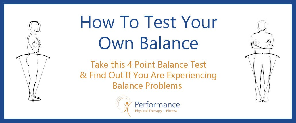How to Test Your Own Balance