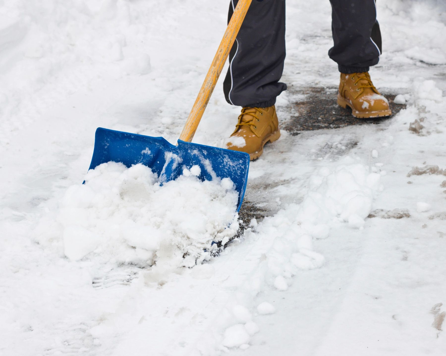 How To Shovel Snow The Right Way!