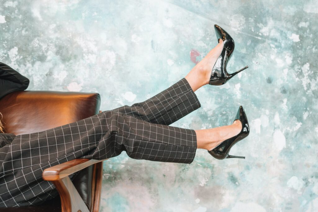 high heels physical therapy