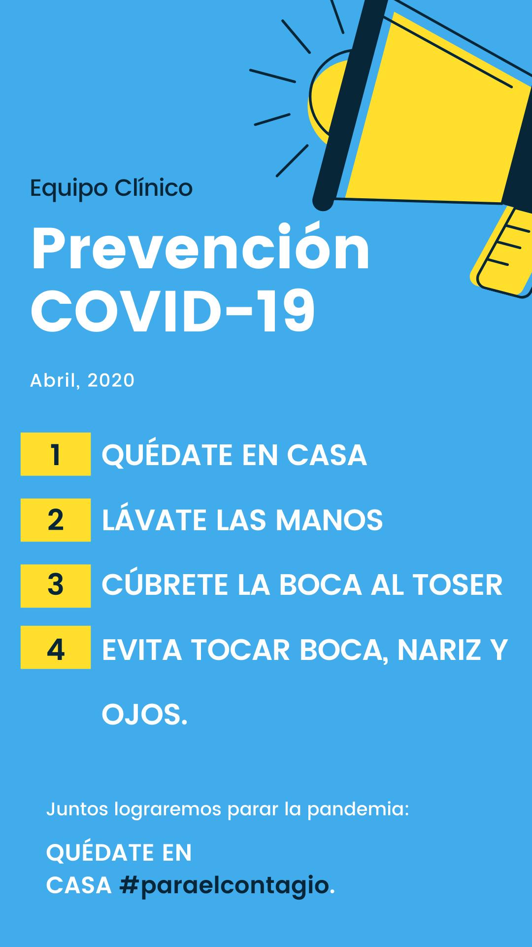 Prevensión COVID-19