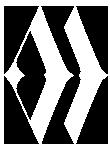 Modern wellness white logo