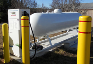 VTM Services - Propane Pumping Station