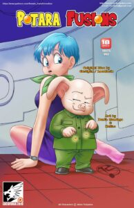 Comic-condom-hentai-manga-cartoon-porn-Dragon-Ball-Z-Super-Bulma-Big-Breasts-masturbation-solo-female-gender-bender-taboo-full-color-American-MILF-Oolma-Potara-Fusions