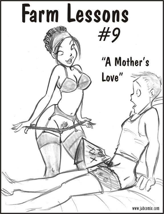 Jab-comix-Farm-Lessons-Issue-#-9-Porn-Comic-mature-woman-mother-catches-son-masturbating-fucks-her-young-son-incest-dick-sucking-anal-sex-riding-cums-in-moms-pussy-blowjob