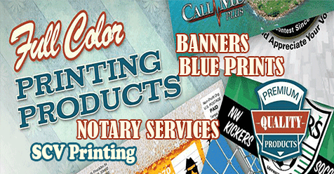 Printing SCV | All Your Printing Needs in Santa Clarita