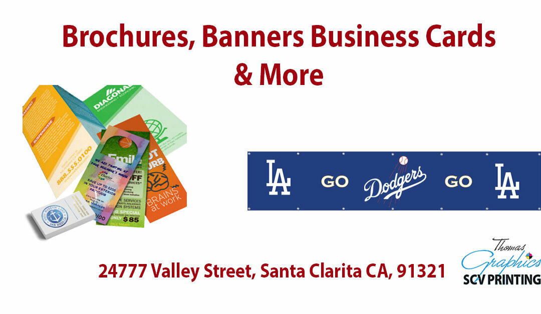 Great Service, Great Deals – Thomas Graphics, SCV Printing
